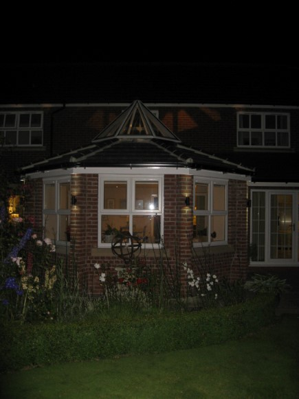 Night-time Exterior Elevation